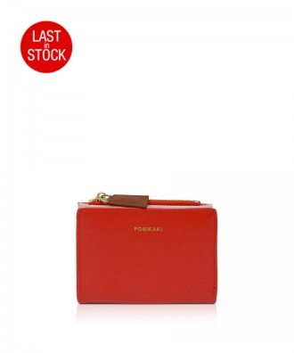 Pomikaki Poppy wallet red