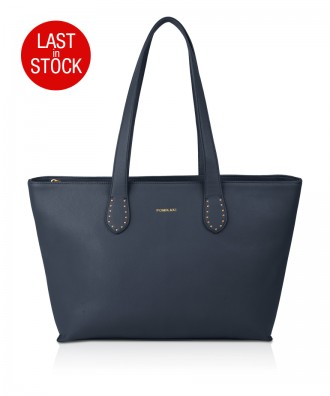 Pomikaki Dalia shopper navy blue