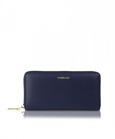Navy blue wallet Louise