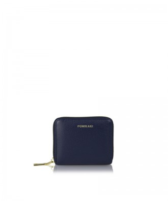 Small wallet blue navy Alison