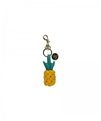 Yellow Pineapple keyring