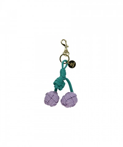 Purple Cherry keyring