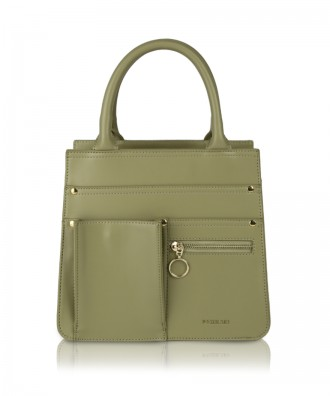 Olive Utility Shopper handbag