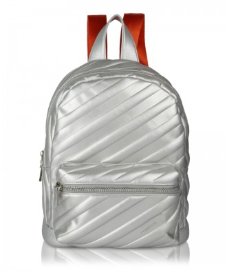 Silver Glam backpack