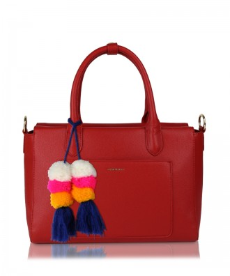 Sixty handbag red
