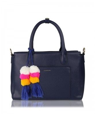 Sixty handbag navy blue