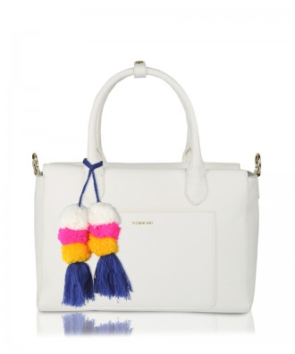 Sixty handbag white