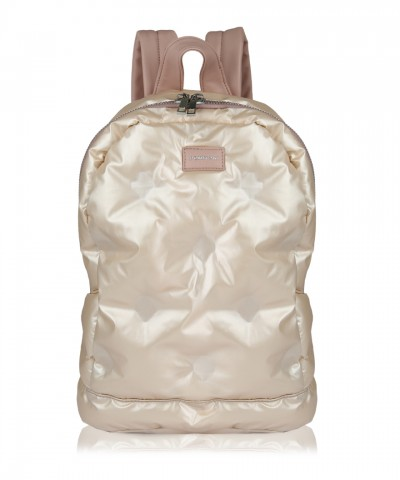 Pink Puffy backpack