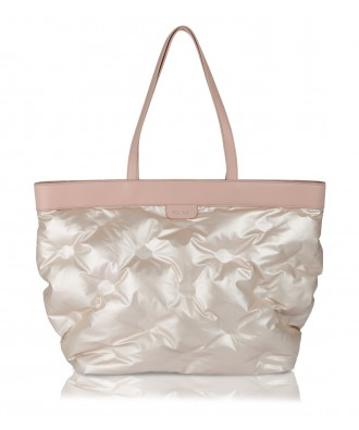 Pink Puffy shopper bag