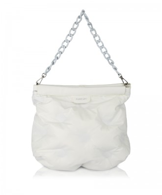 White Puffy purse