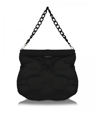 Matt black Puffy purse