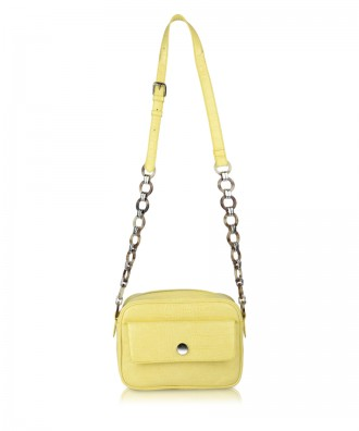 Yellow Paula crossbody bag