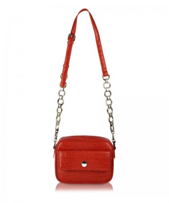 Red Paula crossbody bag