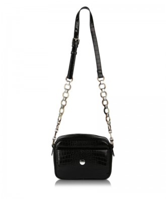 Black Paula crossbody bag