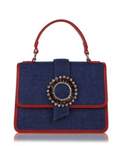 Denim Gwen handbag