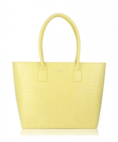 Yellow Alexandra shopper bag