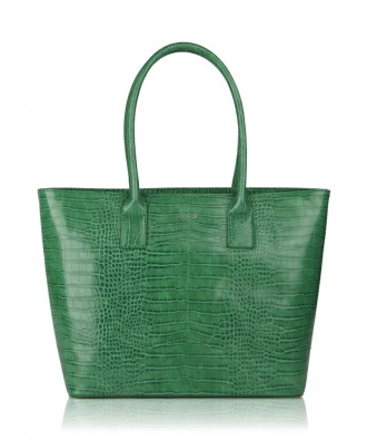 Green Alexandra shopper bag