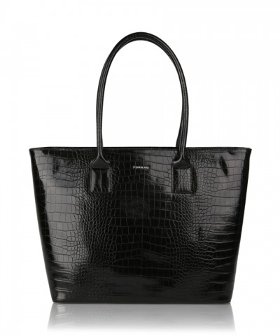 Shopper bag nera Alexandra