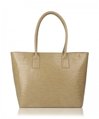 Shopper cammello Alexandra