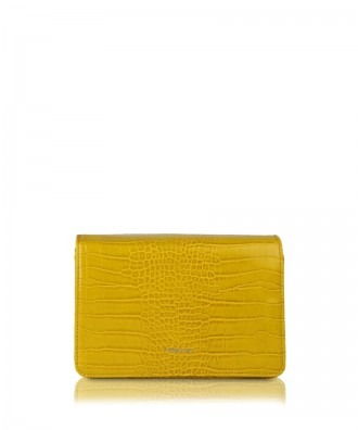 Yellow Gigì clutch