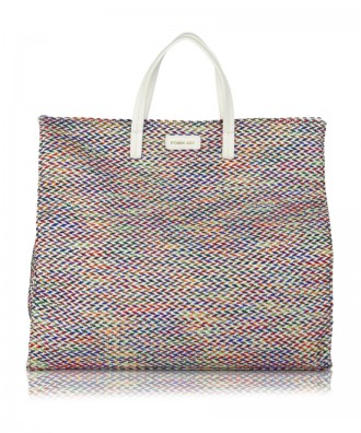 Multicolor-white Susanna Tweed handbag