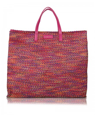 Borsa a mano multicolor-rosso Susanna Tweed