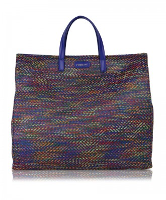 Multicolor-blue Susanna Tweed handbag