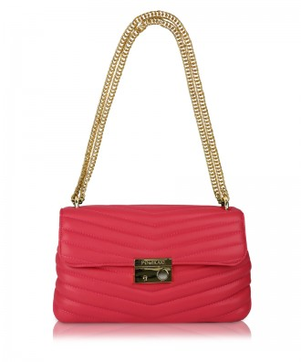 Red Giulietta Quilted crossbody bag
