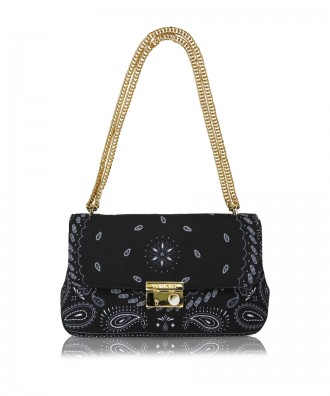 Black Giulietta Hanky crossbody bag