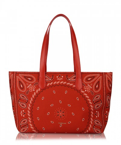 Red Hanky shopper bag