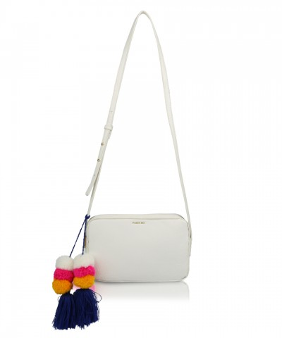 White Camy crossbody bag