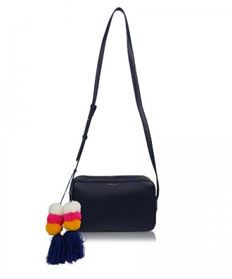 Navy blue Camy crossbody bag