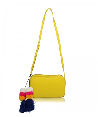 Yellow Camy crossbody bag