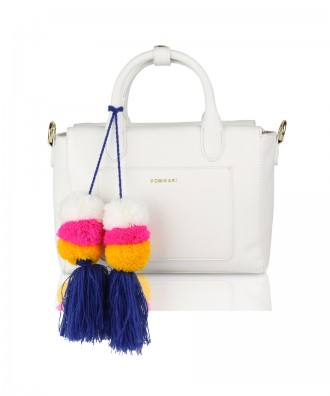 White Mimì handbag