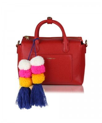 Red Mimì handbag