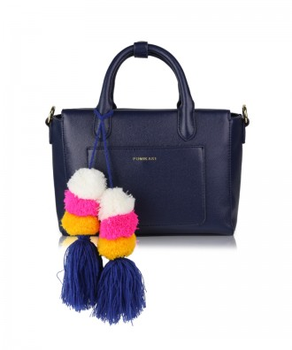 Navy blue Mimì handbag