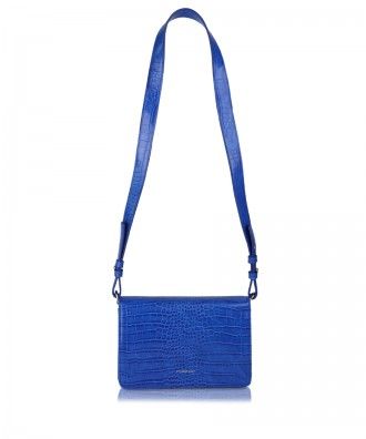 Royal blue Gigì clutch