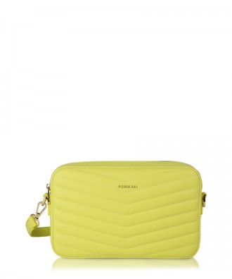 Yellow Gioia crossbody bag