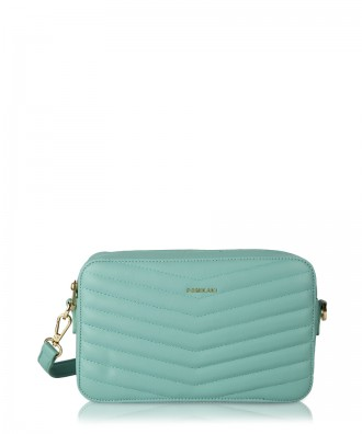 Light blue Gioia crossbody bag
