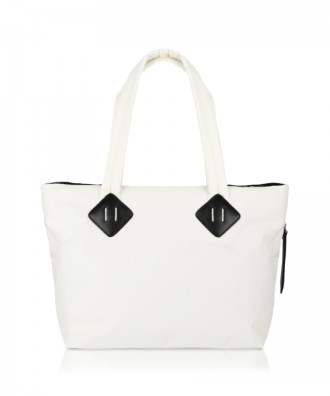 White Ri-flect Midi shopper