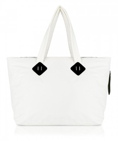 White Ri-flect shopper