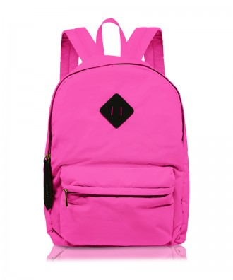 Fluo pink Ri-flect backpack