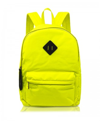 Fluo yellow Ri-flect backpack