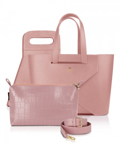Pomikaki luxury set Origami Large Pink