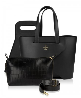 Pomikaki luxury set Origami Large Black