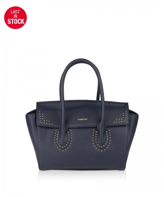 Pomikaki Barbara handbag navy blue