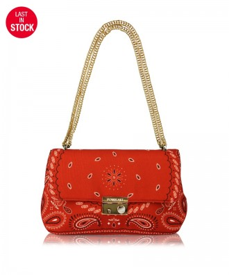 Red Giulietta Hanky crossbody bag