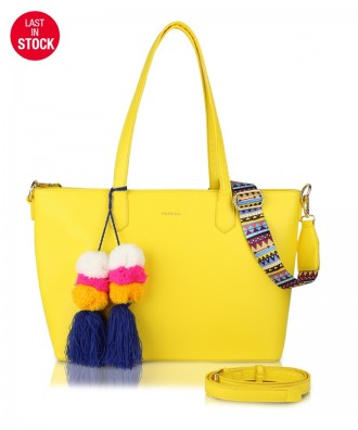 Shopper gialla Cora