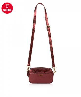 Pomikaki Allure crossbody bag red
