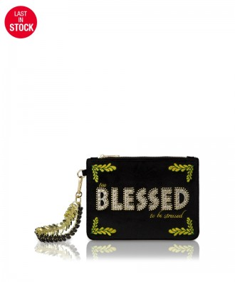 Pomikaki Gwineth Blessed handbag black